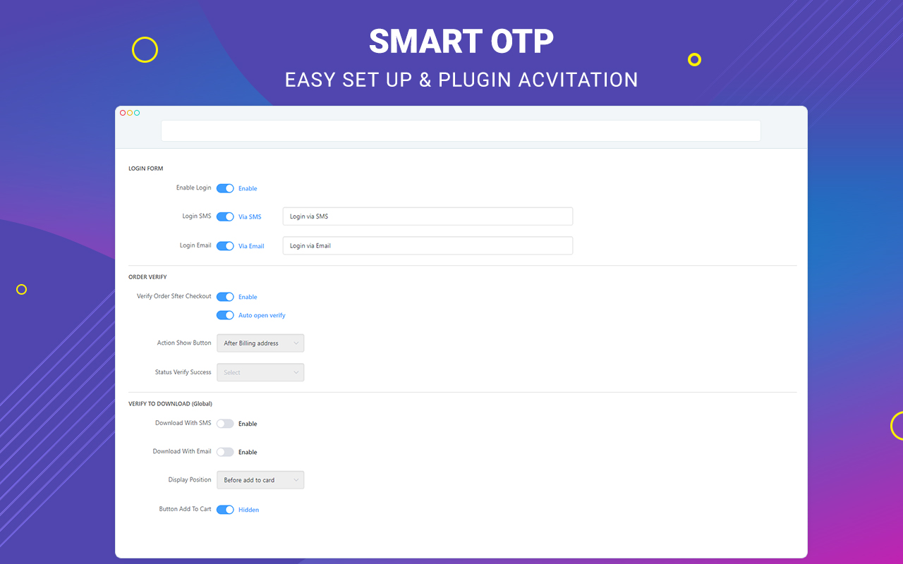 Smart OTP - Phone Validator and Email Verification