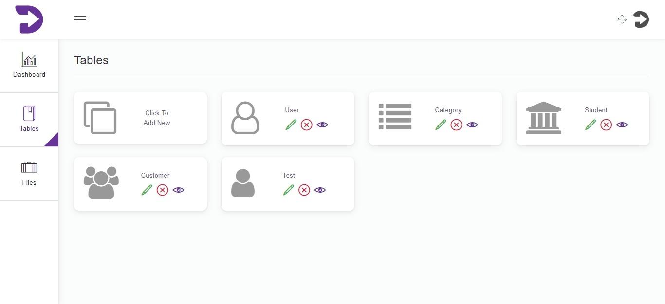 Firebase Firestore Admin Dashboard - Vue js