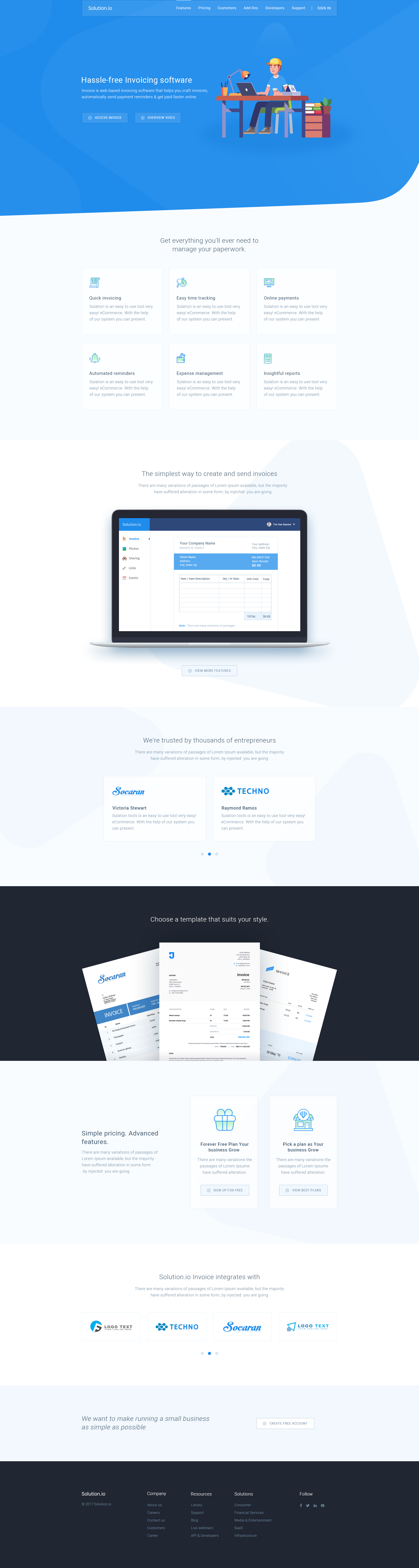 Spring - Software, App, Saas & Product Showcase Landing HTML5 Template