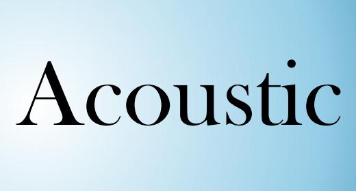 Acoustic by AudioZen