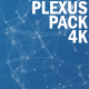 4K Plexus Background Pack - VideoHive Item for Sale