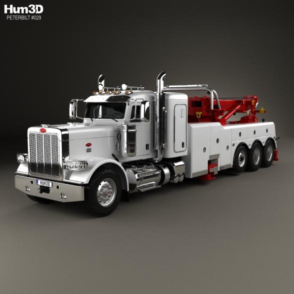 Peterbilt 388 Wrecker Truck 2014