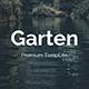 Garten Creative Design Google Slide Template - GraphicRiver Item for Sale