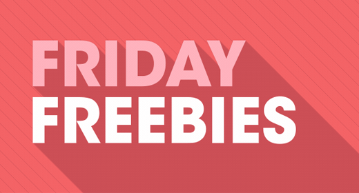 Friday Freebies - 15th March 2019