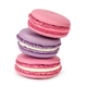 Stack of french macaroons isolated on white - PhotoDune Item for Sale