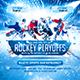 Hockey Playoffs Square Flyer vol.1 - GraphicRiver Item for Sale