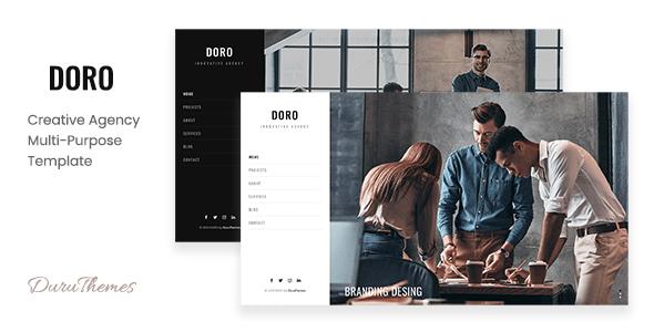 DORO - Creative Agency Multi-Purpose Template