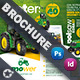 Vehichle Mower Brochure Templates - GraphicRiver Item for Sale