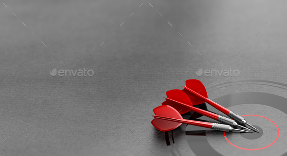 Business Target Background. Marketing and Advertising Concept. - Stock Photo - Images