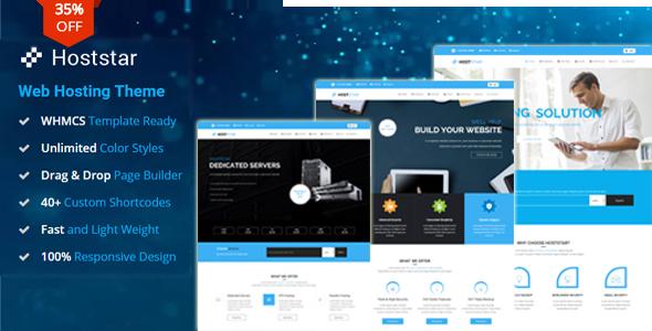 HostStar - WP Theme for Hosting, SEO and Web Design Business