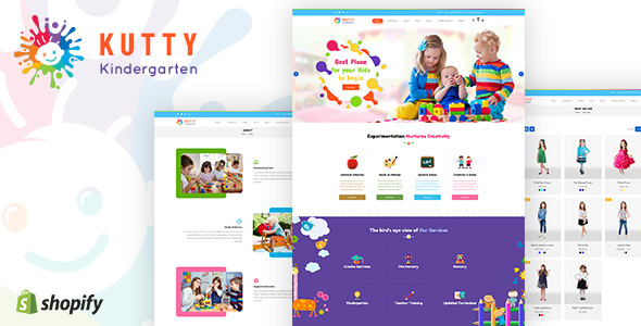 Kutty | Kindergarden Shopify Template