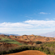 beautiful red land against a blue sky in dongchuan district - PhotoDune Item for Sale