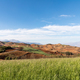 beautiful red land against a blue sky in dongchuan district, kunming city,yunnan, China - PhotoDune Item for Sale