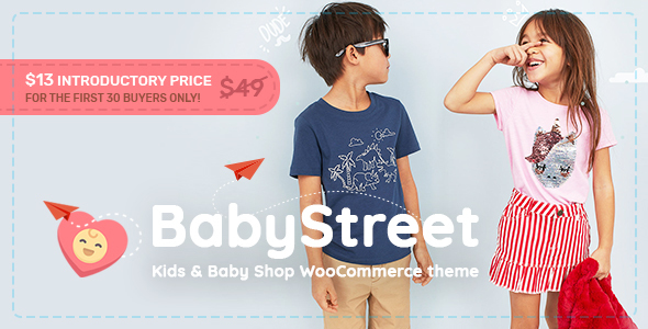 BabyStreet - WooCommerce Theme for Kids and Baby Shops