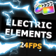 Flash FX ELECTRIC Elements - VideoHive Item for Sale