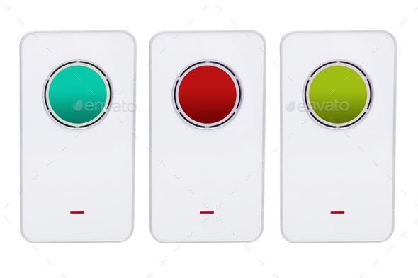Doorbells - Stock Photo - Images