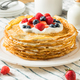 Sweet Homemade Layed Crepe Cake - PhotoDune Item for Sale