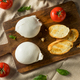 Homemade White Italian Burrata Cheese - PhotoDune Item for Sale