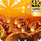 Neon Glowing Stars Tunnel 4k - VideoHive Item for Sale