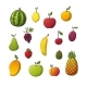 Collection of Some Different Fruits - GraphicRiver Item for Sale