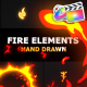 Flash FX FIRE Elements - VideoHive Item for Sale