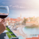 Drinking red wine in Budva - PhotoDune Item for Sale