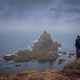Woman on the cliff in Lands End - PhotoDune Item for Sale