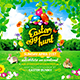 Easter Egg Hunt Square Flyer vol.2 - GraphicRiver Item for Sale