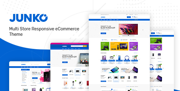 Junko - Technology Theme for WooCommerce WordPress Free Download | Nulled