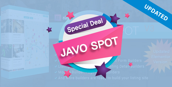 Download Javo Spot – Multi Purpose Directory WordPress Theme nulled 01 Preview