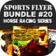 Sports Flyer Bundle 20 Horse Racing Series - GraphicRiver Item for Sale