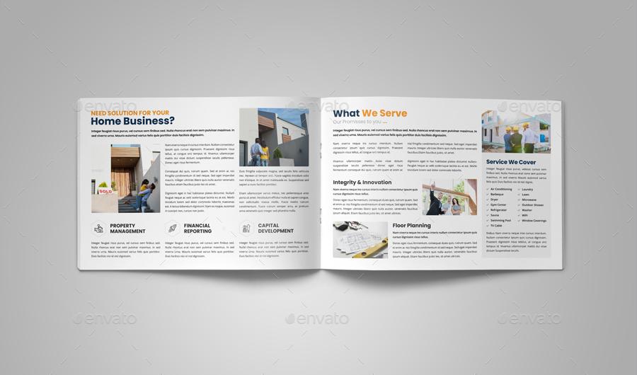 Real Estate Brochure Design v7