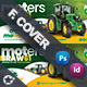 Vehichle Mower Cover Templates - GraphicRiver Item for Sale