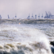 Stormy sea and industrial landscape - PhotoDune Item for Sale