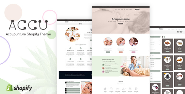 Accu | Shopify Medical Store, Health Shop