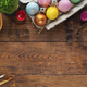 Frame of easter eggs and forms for baking - PhotoDune Item for Sale