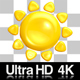 4K Sunny Summer 3D Emoji Icon on Alpha - VideoHive Item for Sale