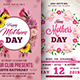 Mothers Day Flyers Bundle Templates - GraphicRiver Item for Sale