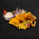 Breaded cheese with french fries - PhotoDune Item for Sale