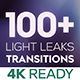 Light Leaks Transitions | MOGRT - VideoHive Item for Sale