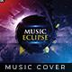 Music Eclipse - Music Album Cover Artwork - GraphicRiver Item for Sale
