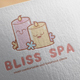 Bliss Spa Logo Design - GraphicRiver Item for Sale