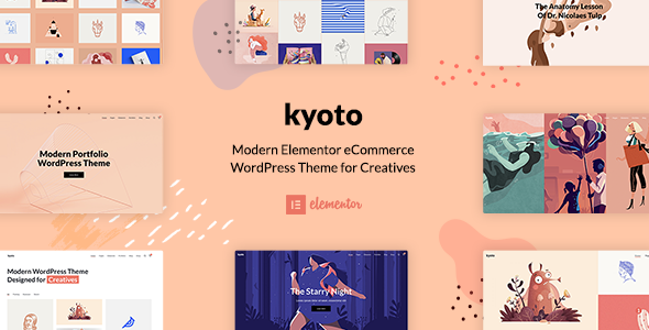 Kyoto – Innovative Portfolio Theme for Creatives