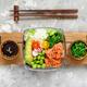 Hawaiian salmon poke bowl - PhotoDune Item for Sale