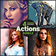 4 Premium Photoshop Actions Bundle - March19 #3 - GraphicRiver Item for Sale