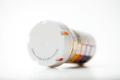 Prescription drug orange bottle with cap - PhotoDune Item for Sale