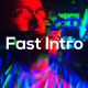 Fast Glitch Intro - VideoHive Item for Sale