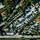 Aerial view of Campsite with caravans on holiday or vacation in Italy - PhotoDune Item for Sale
