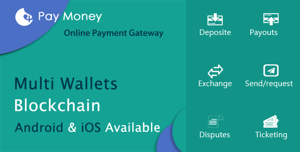 Latest] PayMoney - Secure Online Payment Gateway Nulled Free