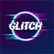 Glitch Logo Intro Reveal